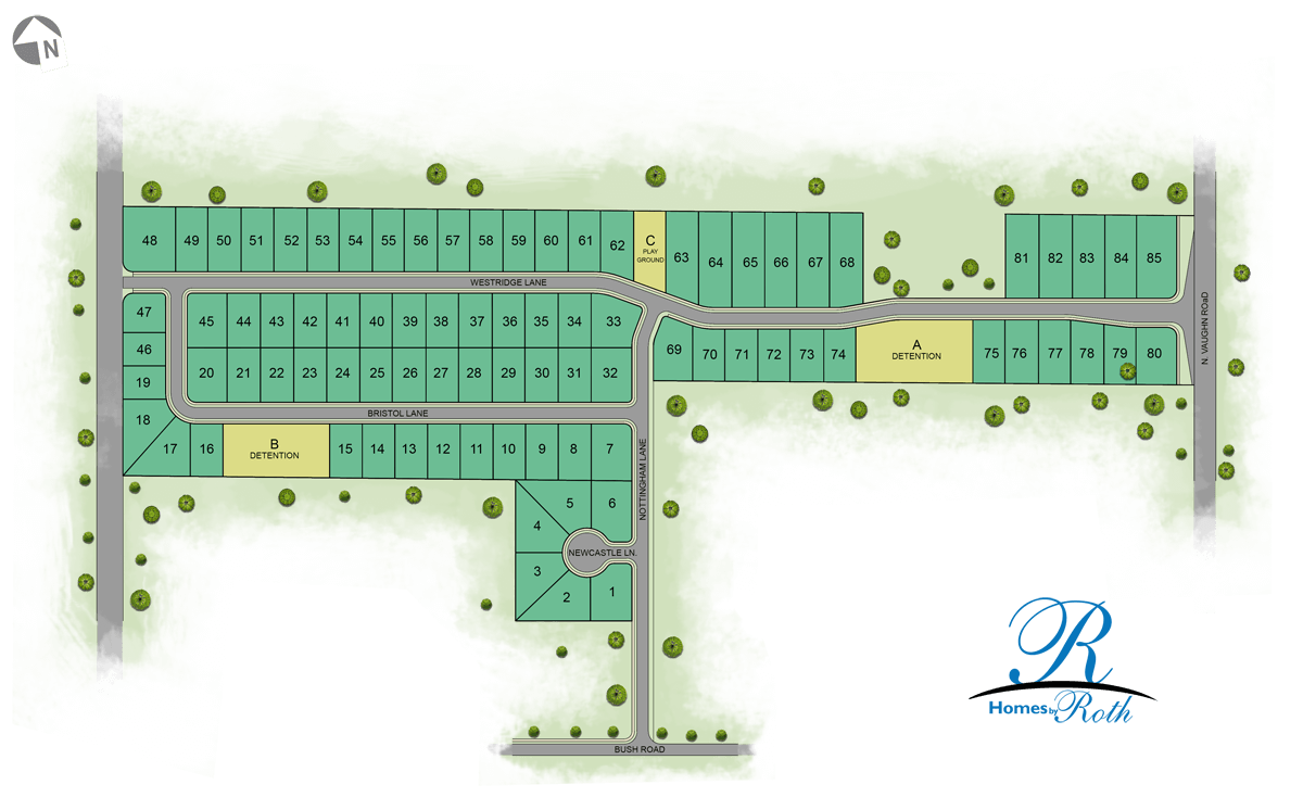 Westridge Village Map